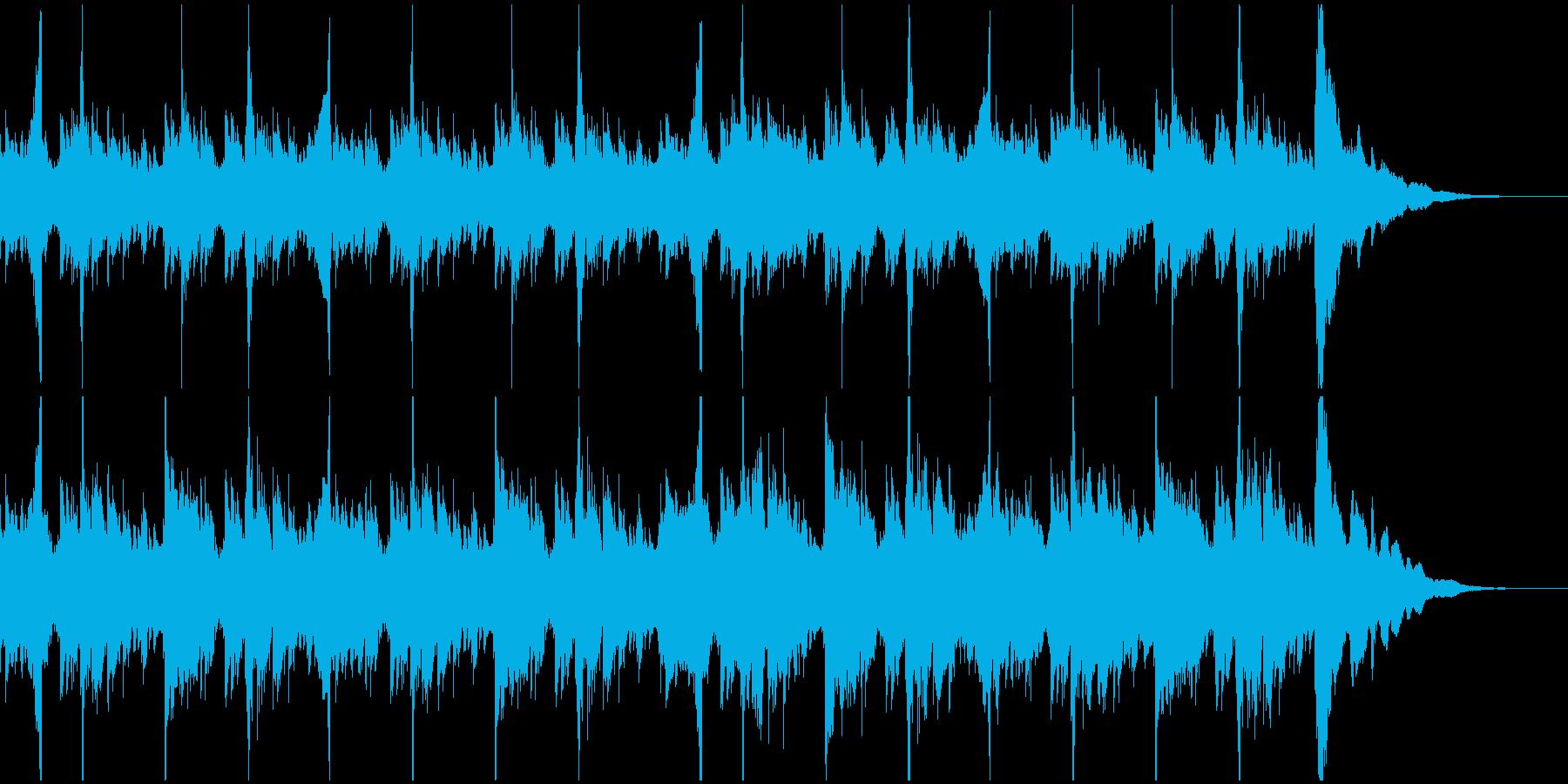 ギターを使用したみずみずしい楽曲です。の再生済みの波形