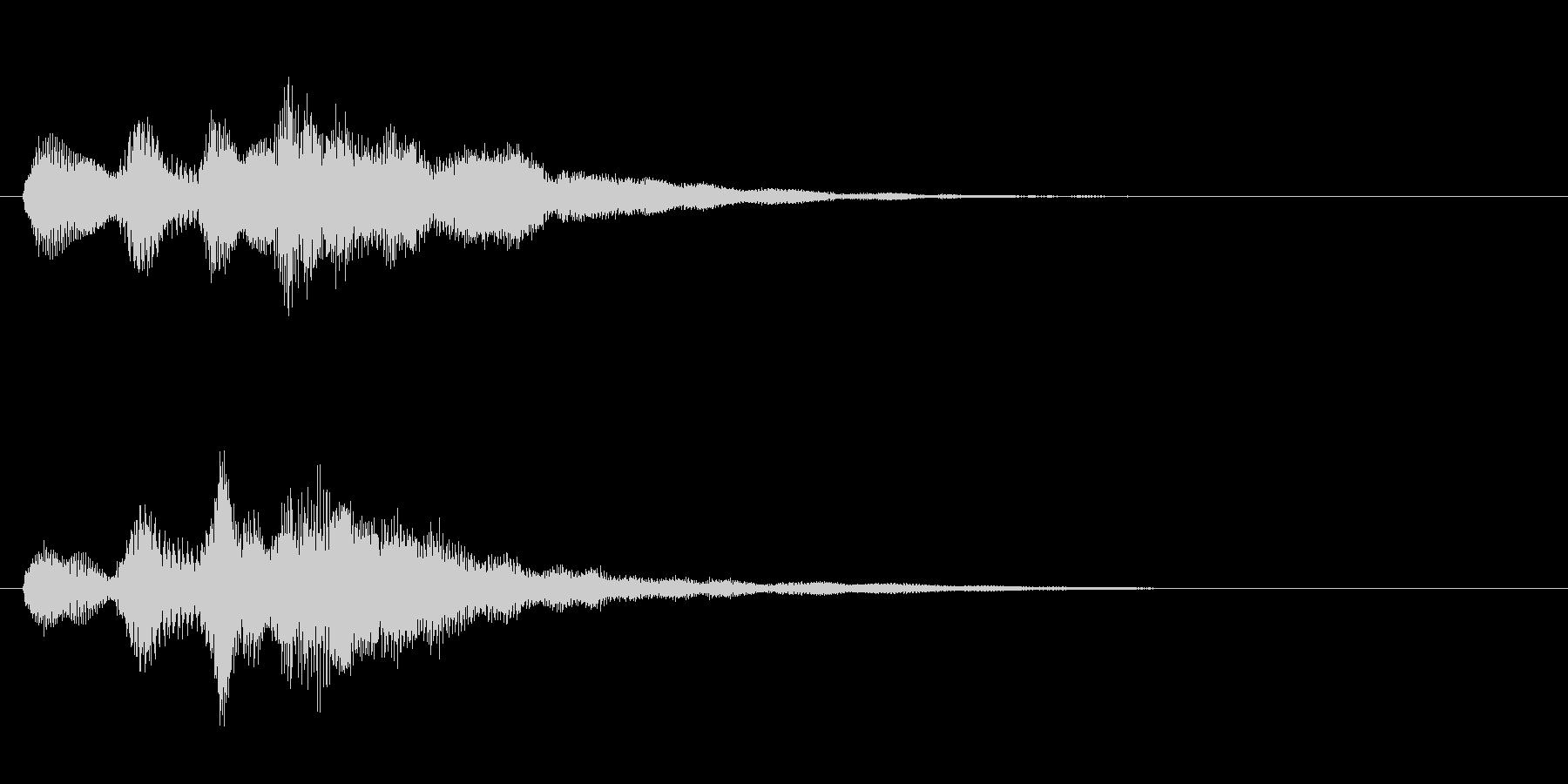 サウンドロゴ(企業ロゴ)_004の未再生の波形