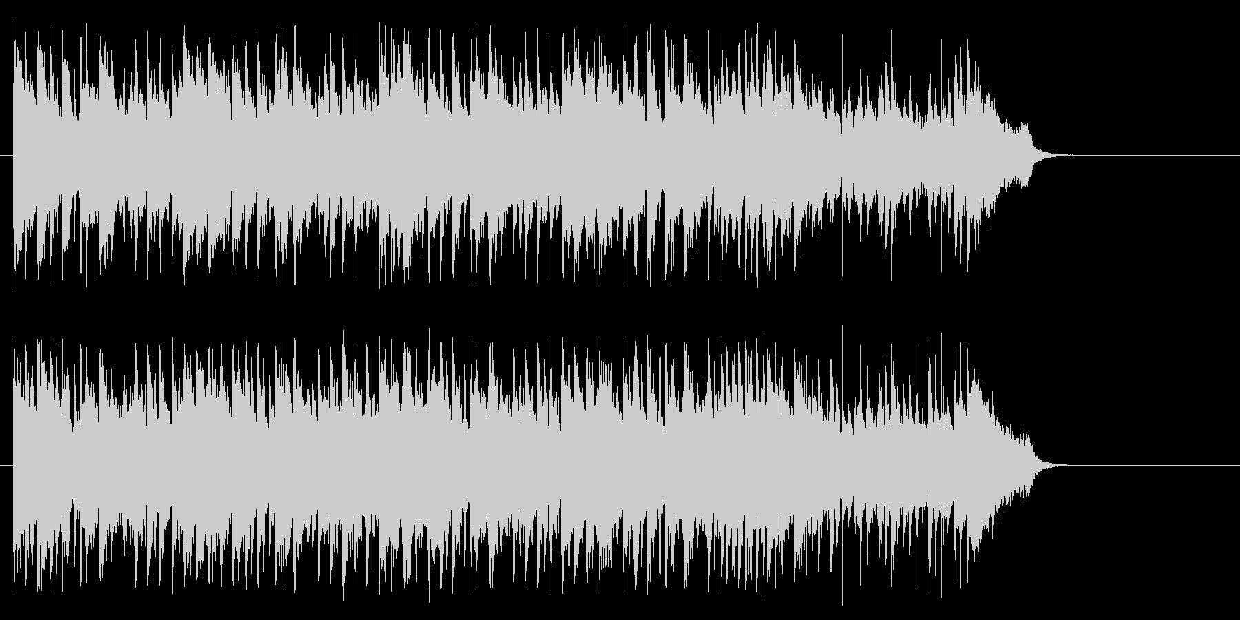 きらめきのおだやかサウンドの未再生の波形