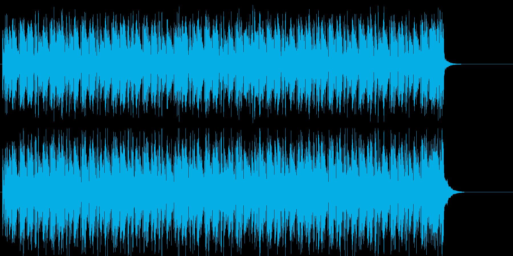 サルサ ラテン にぎやか 慌ただしいの再生済みの波形