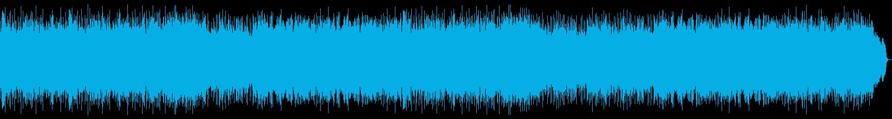 ダークなヘビーメタルのインスト ロング版の再生済みの波形