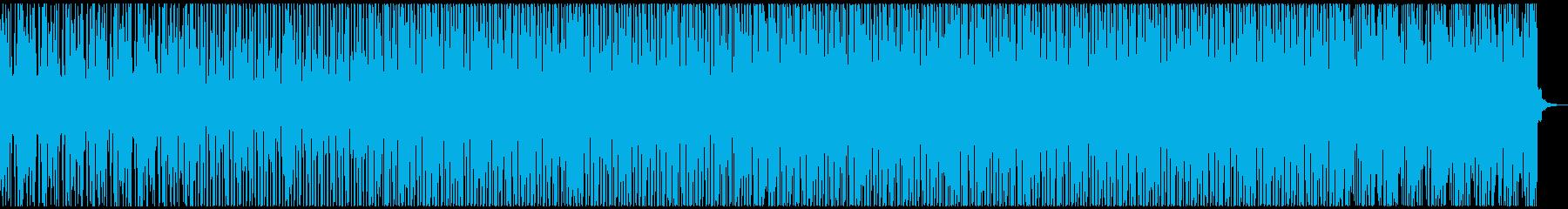 エレピとピアノを使ったDeephouseの再生済みの波形