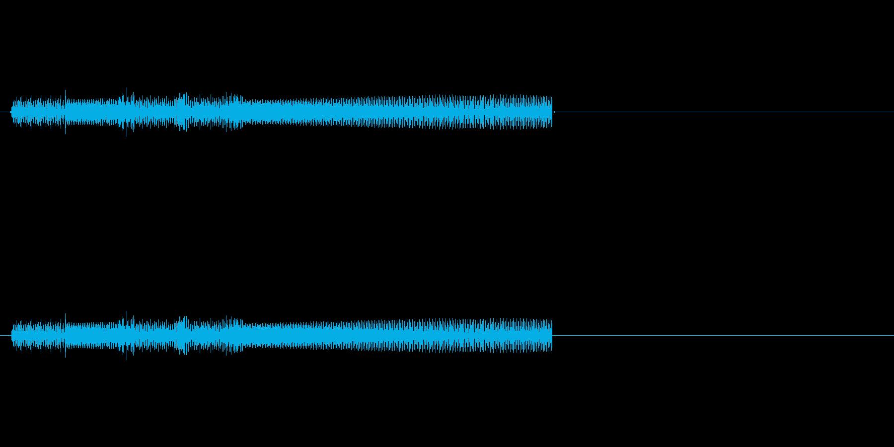 ファミコン風クリア音ですの再生済みの波形
