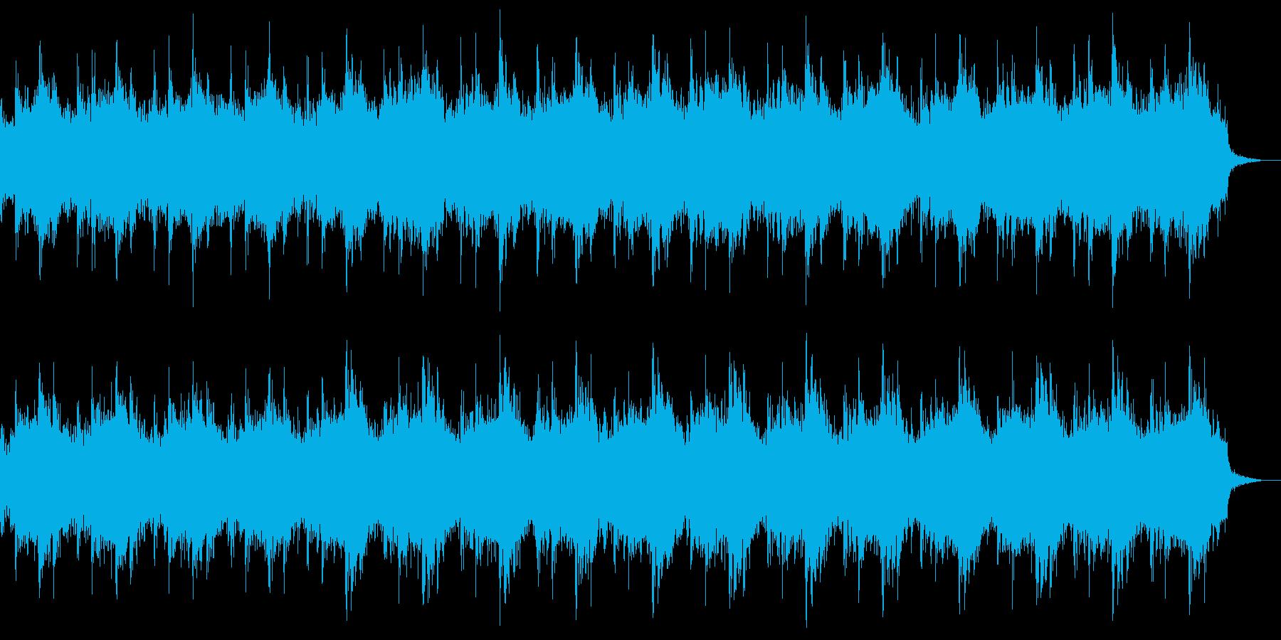 悲しく重い雰囲気のストリングスの再生済みの波形