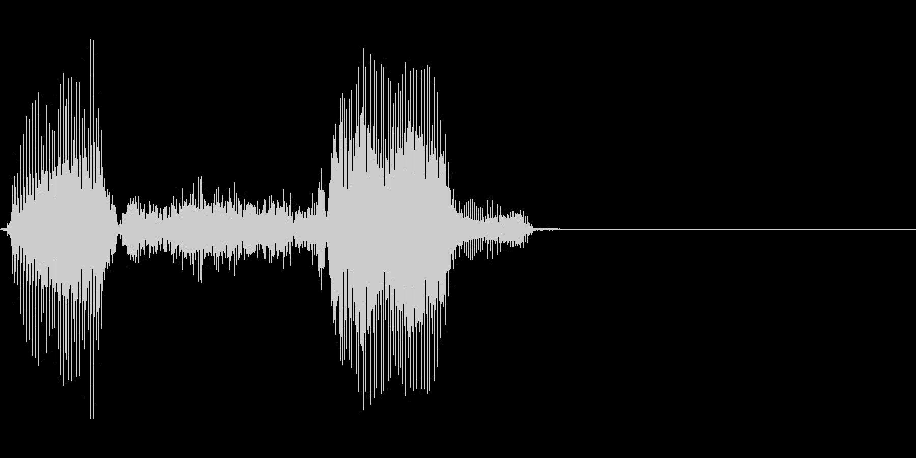1,000(いっせん)の未再生の波形