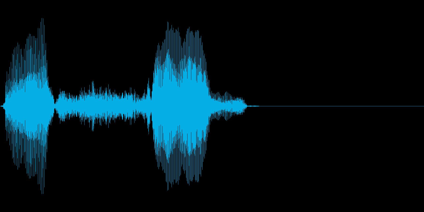 1,000(いっせん)の再生済みの波形