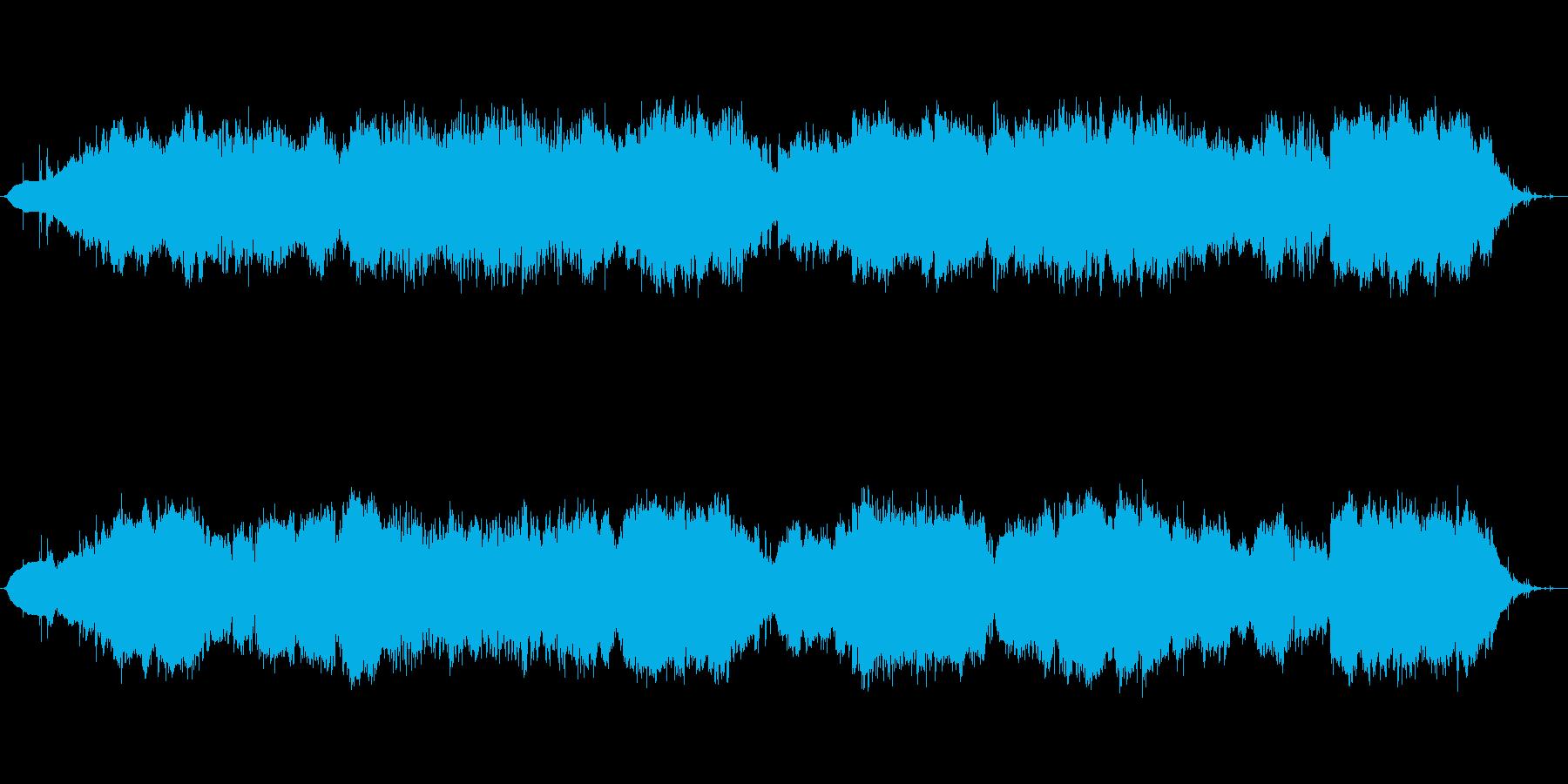 祭りの余韻をイメージの再生済みの波形