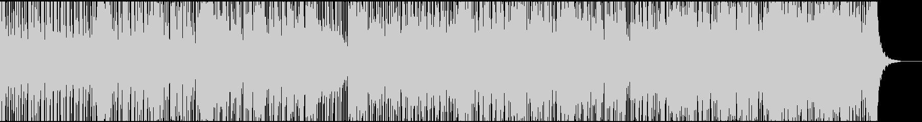 和風な迫力のある太鼓ドラムのアレンジ曲の未再生の波形