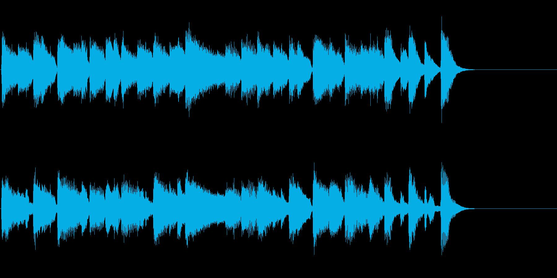 アイドルをイメージしたジングル 8小節Bの再生済みの波形