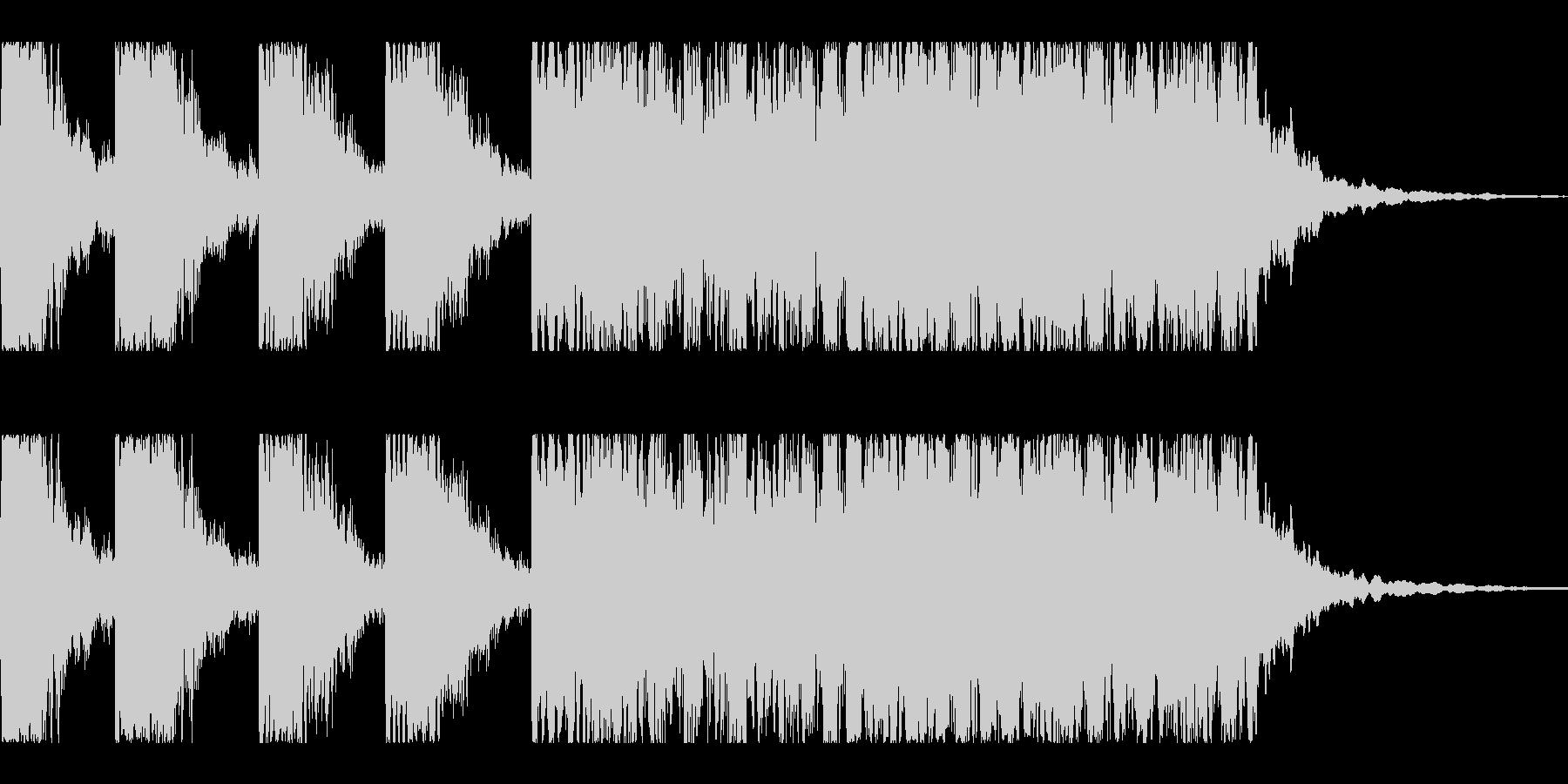 キラキラキラティティティ-ン(発見の音)の未再生の波形