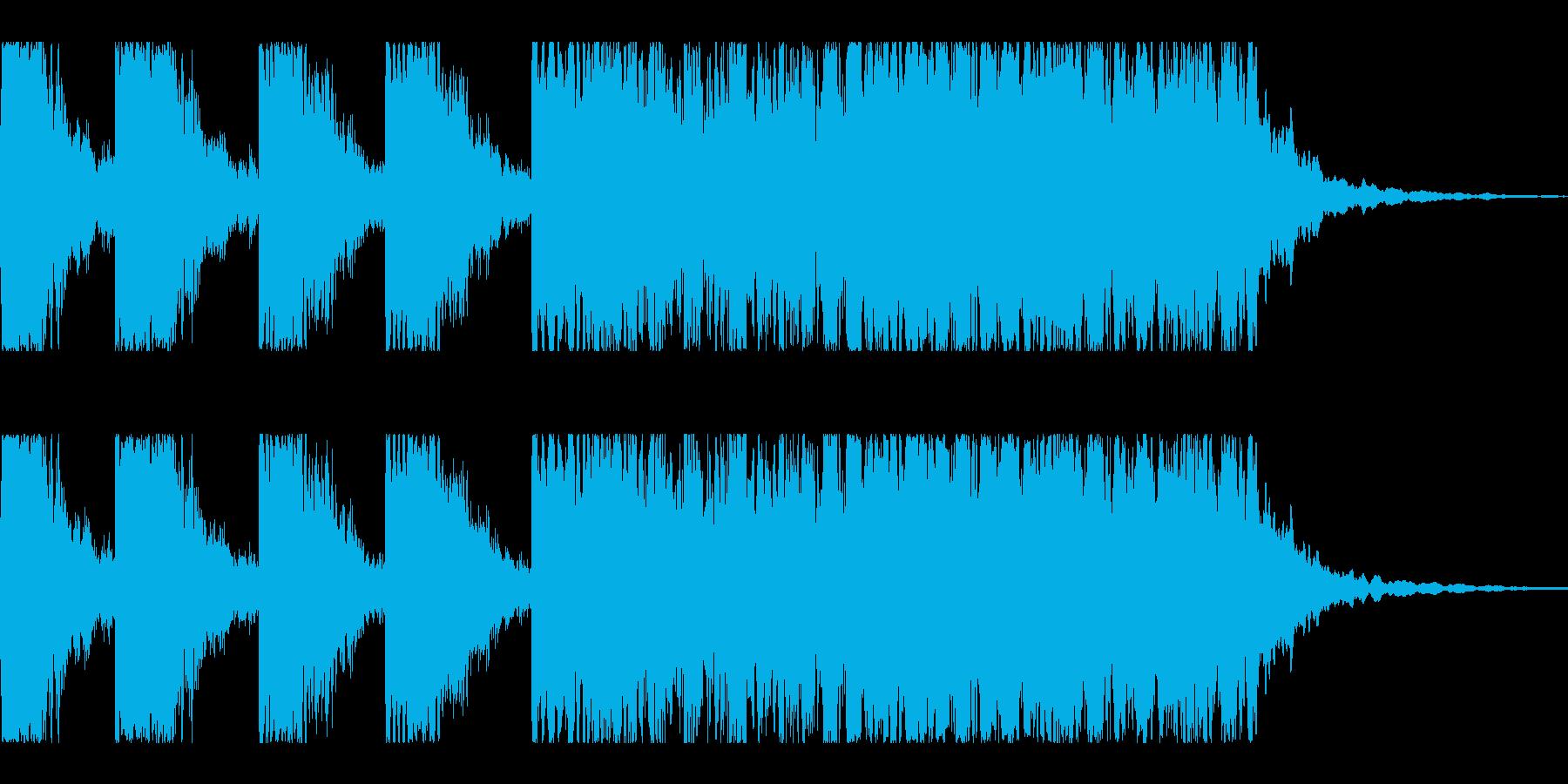キラキラキラティティティ-ン(発見の音)の再生済みの波形