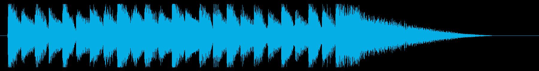 【君が景色に2】の再生済みの波形