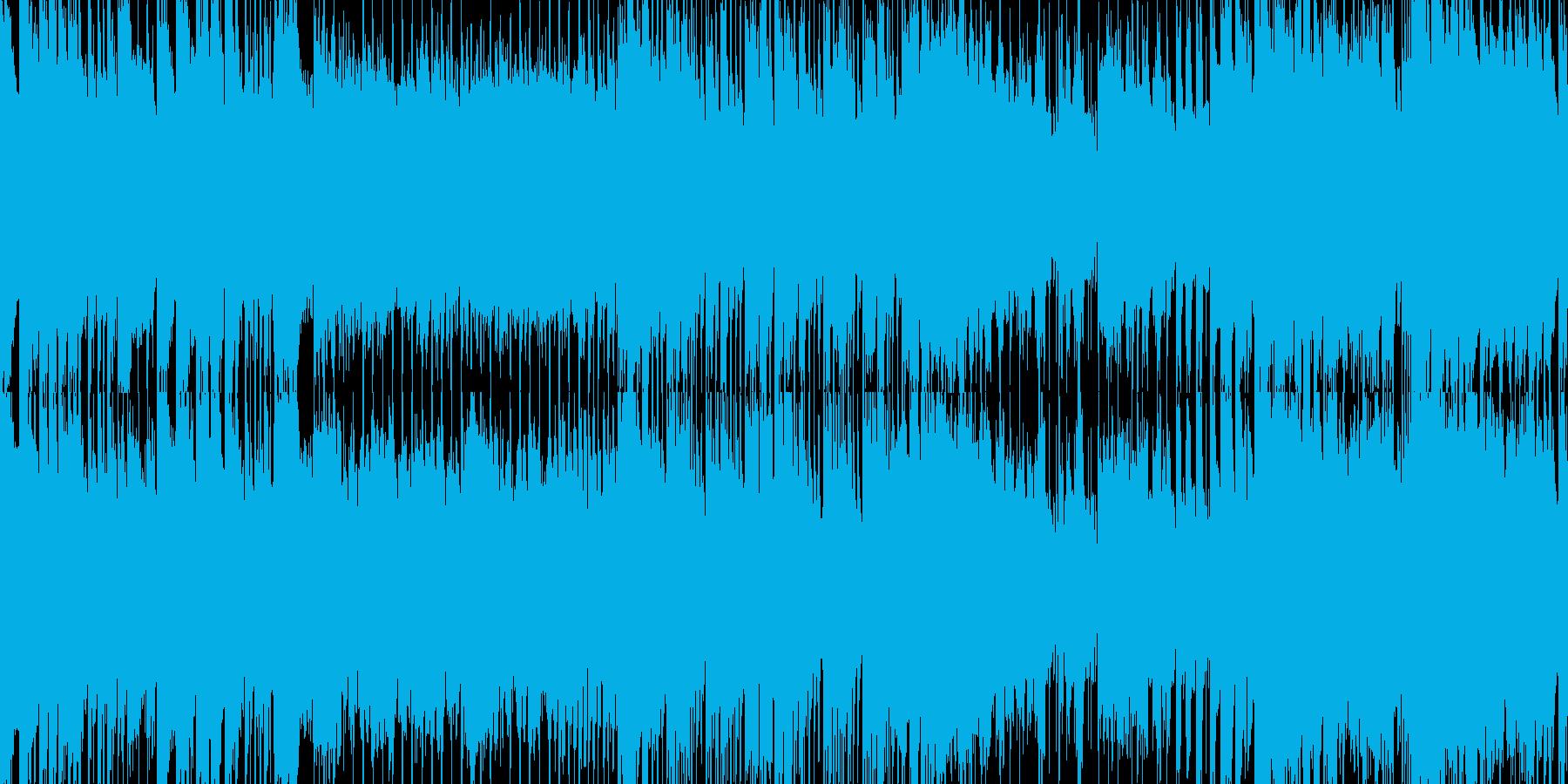 疾走感溢れる和風ロックの再生済みの波形