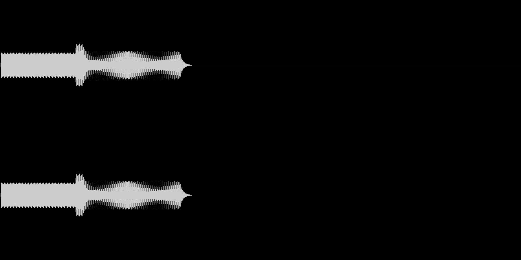 ピボ!コンピュータ音。8bit的。の未再生の波形