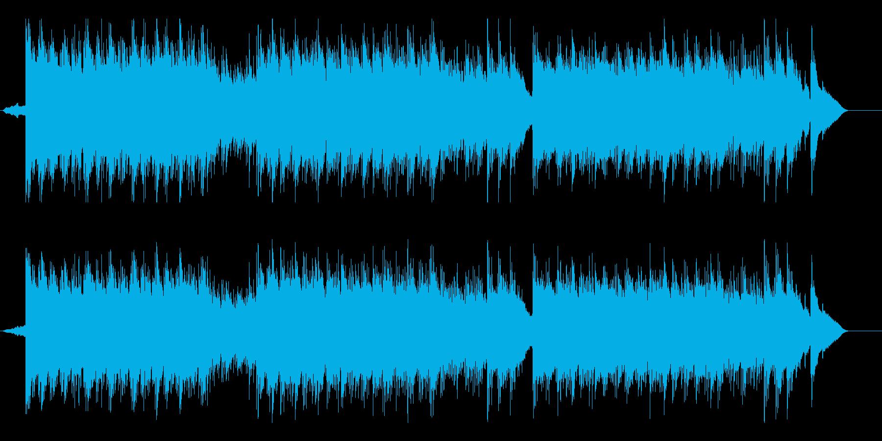しっとり リラックス ほのぼの 優しいの再生済みの波形