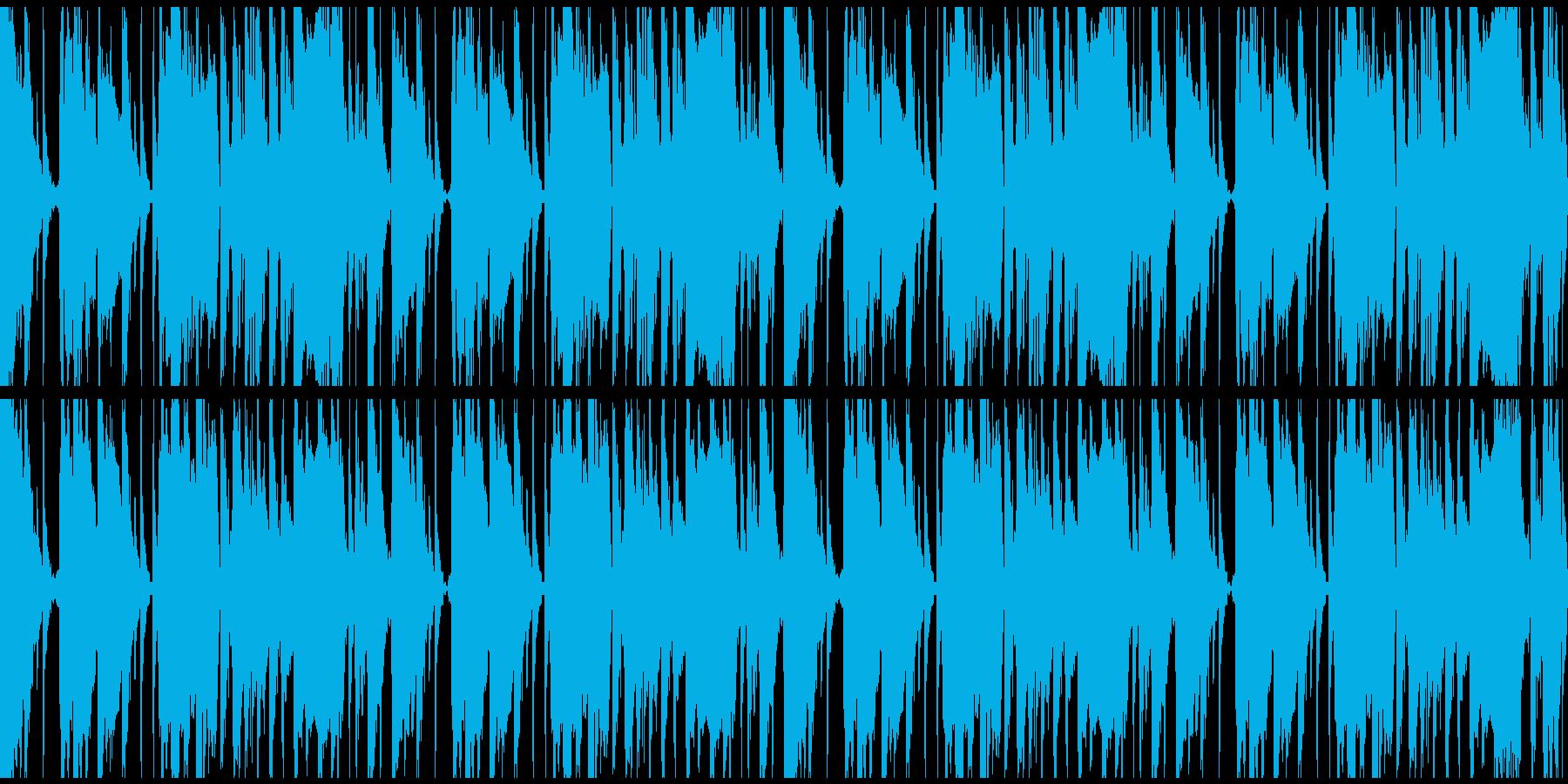 bpm140 ループ仕様の再生済みの波形