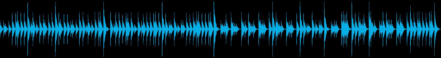 締太鼓ソロの再生済みの波形