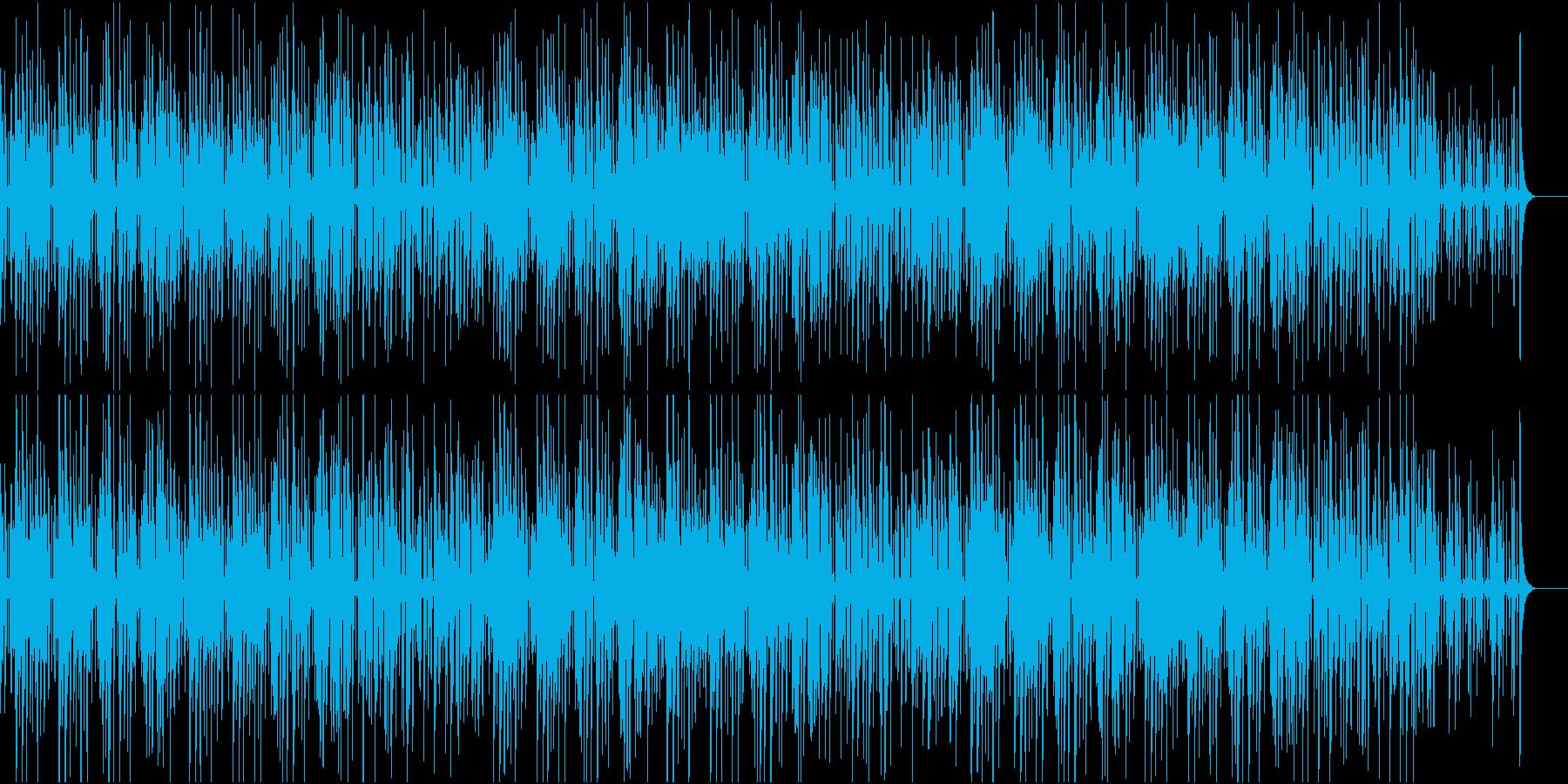 クールで洗練された雰囲気のジャズの再生済みの波形