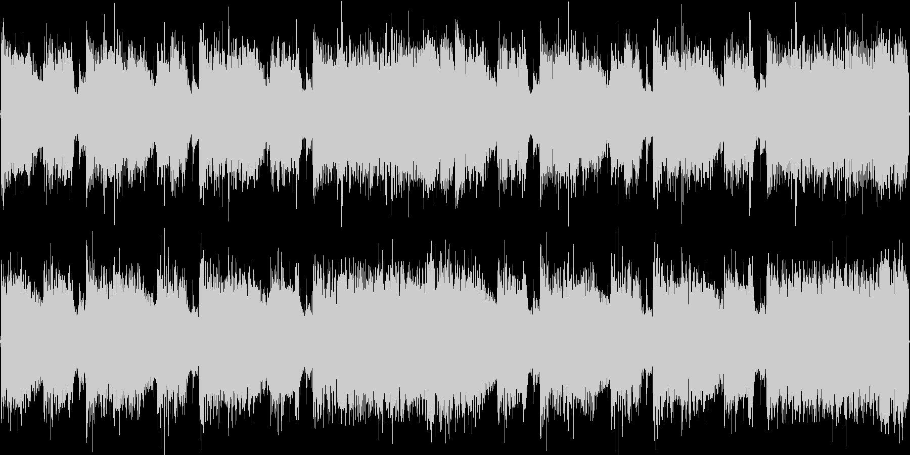 ロック_疾走感2の未再生の波形