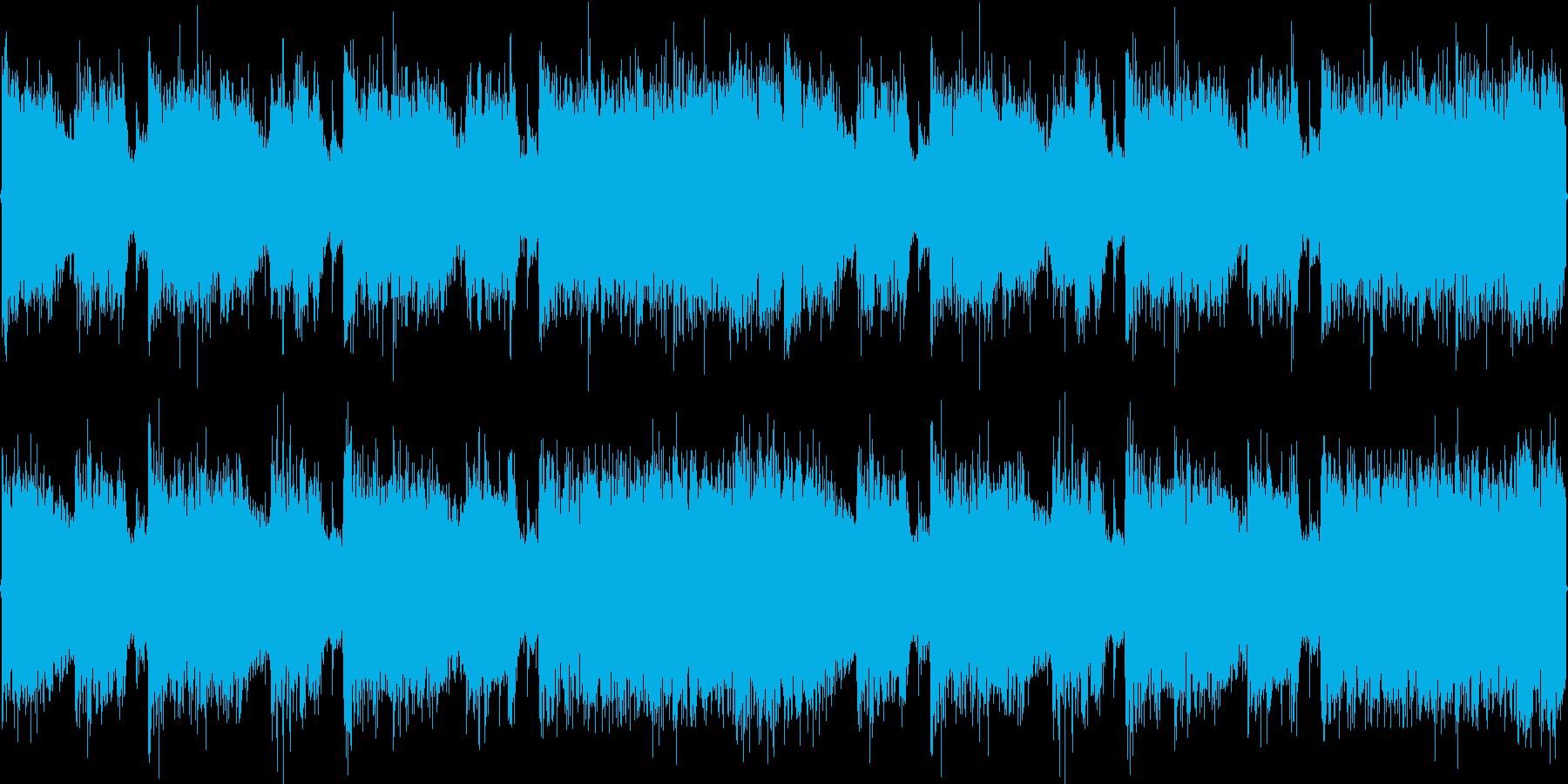 ロック_疾走感2の再生済みの波形