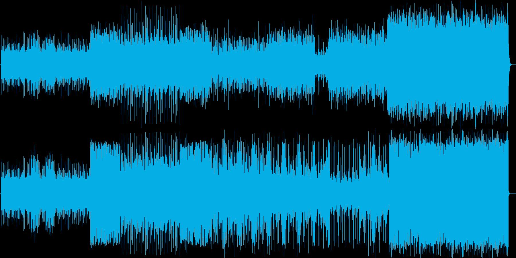 ロック エレクトロニカ ニューデジロックの再生済みの波形