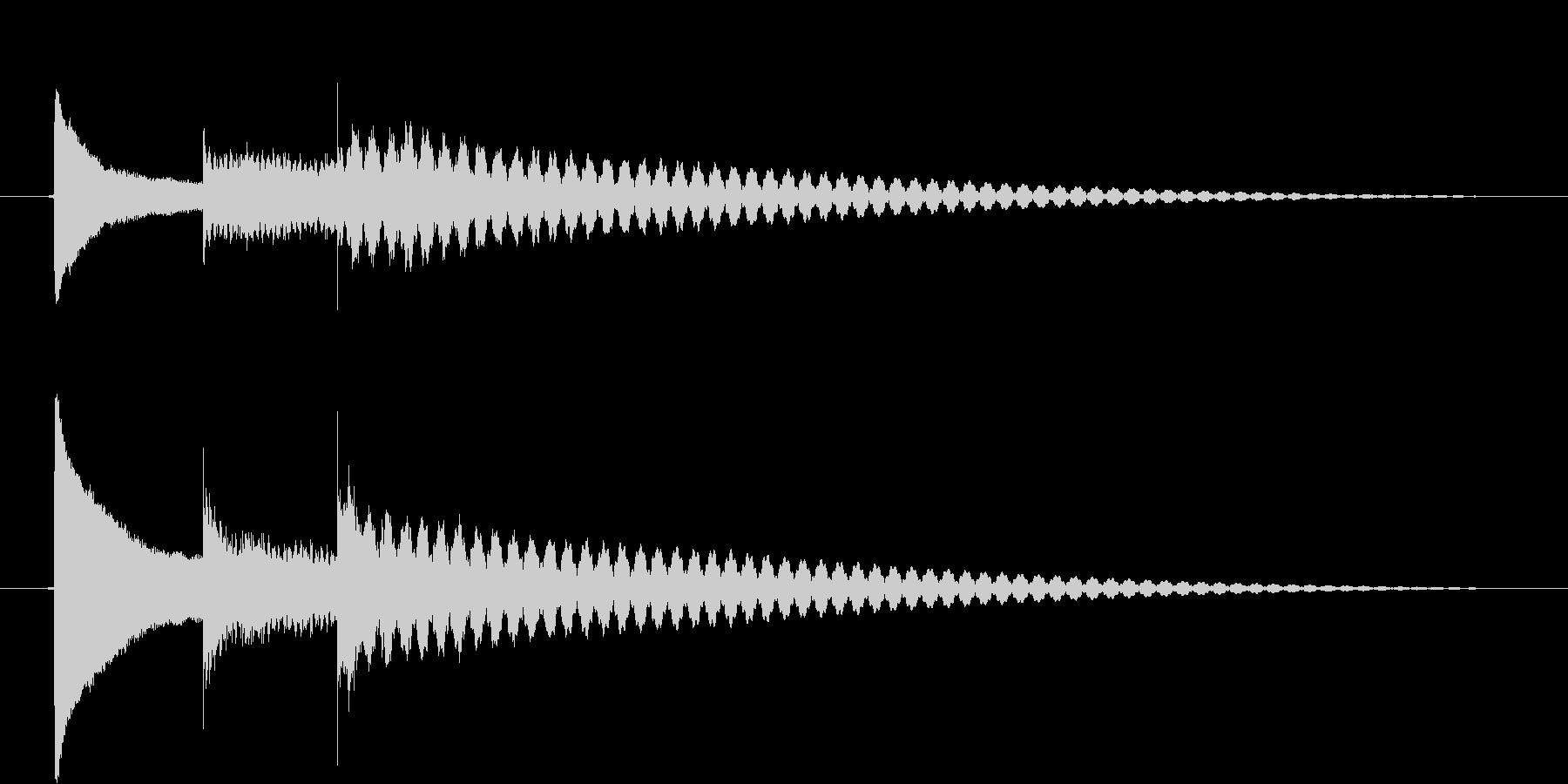 ピコリン(ベル)の未再生の波形