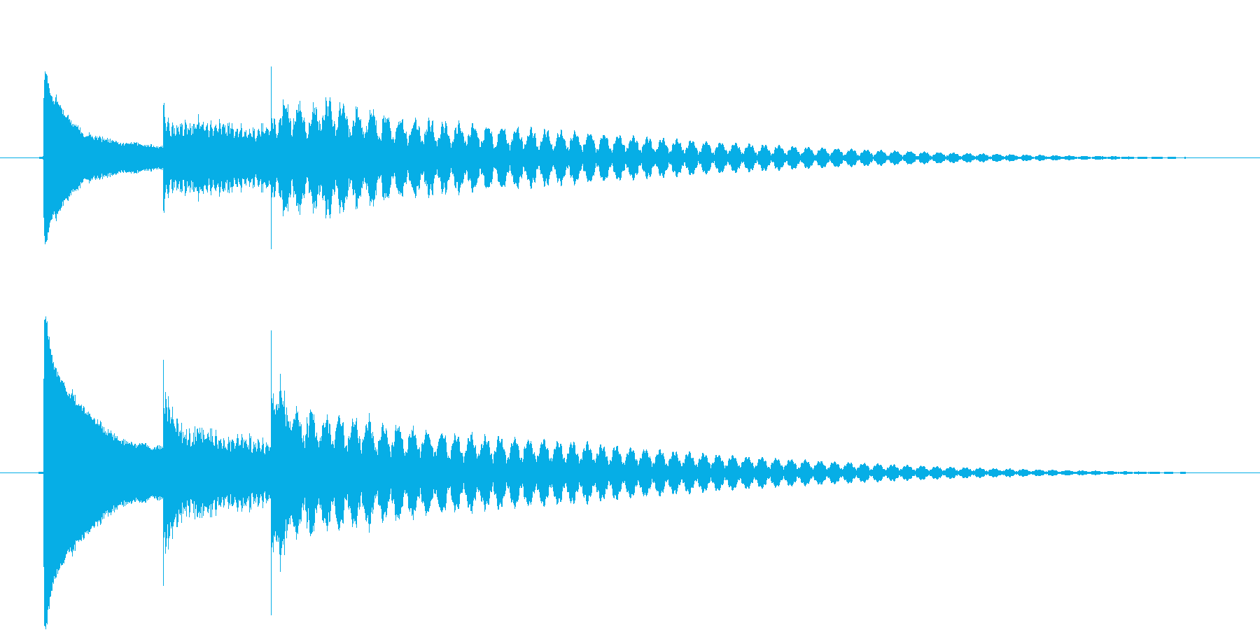 ピコリン(ベル)の再生済みの波形