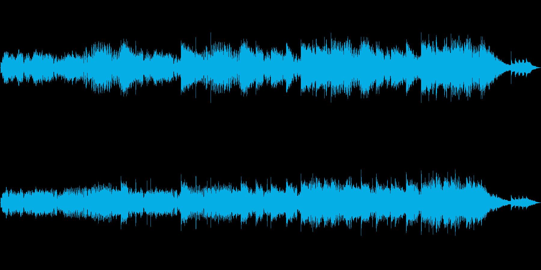 昔話 童話 村 和風ループ音源の再生済みの波形