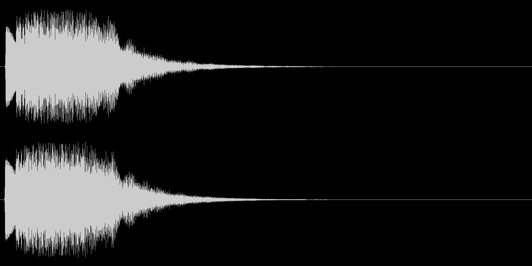 ウインドチャイム系の未再生の波形