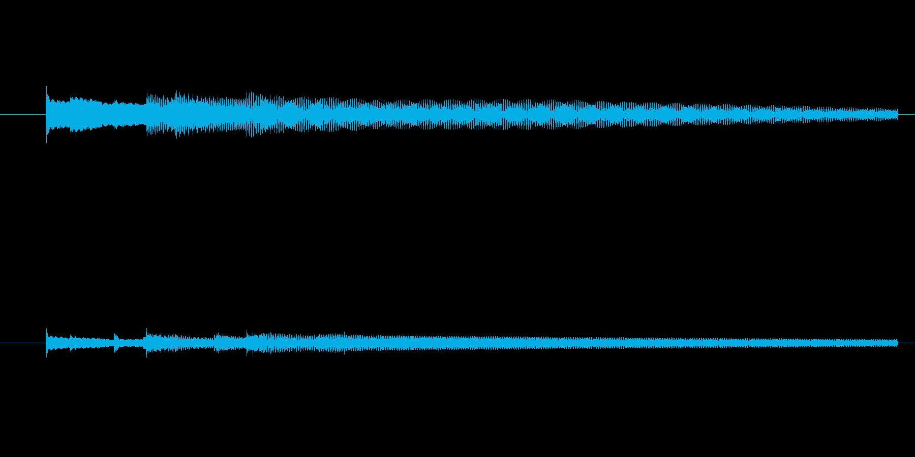 ワープ get 魔法の再生済みの波形