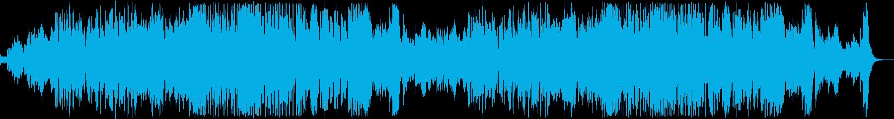 ゴースト演奏会の様なイメージ/ハロウィンの再生済みの波形