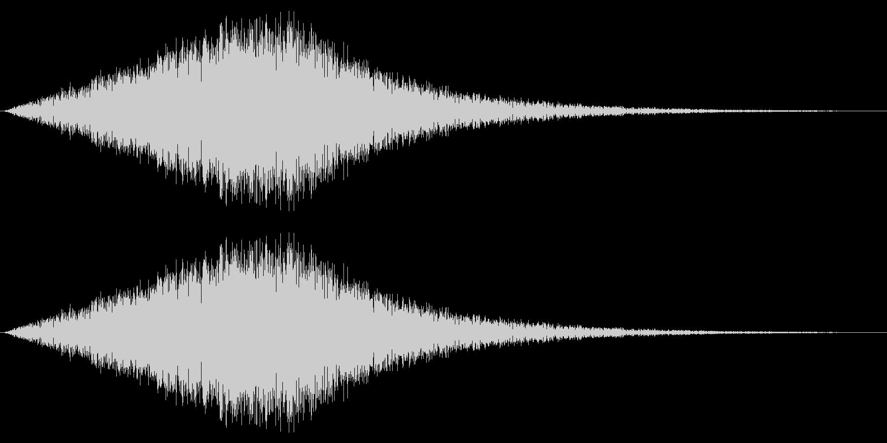 風音04(ピュー/短い系)の未再生の波形