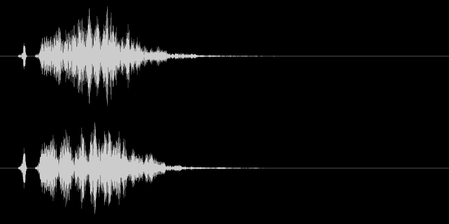 シンプルなコミカル/プニプニ/ポヨン01の未再生の波形
