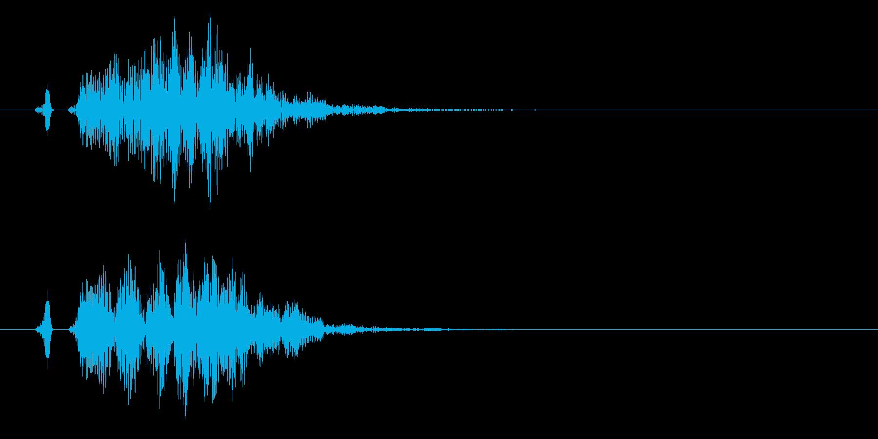 シンプルなコミカル/プニプニ/ポヨン01の再生済みの波形