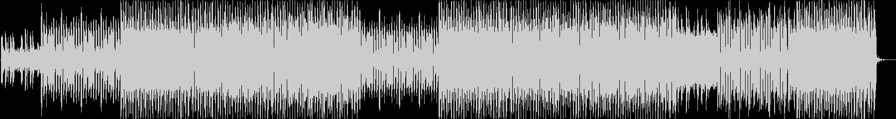 レトロフューチャー的なエレクトロ風楽曲…の未再生の波形