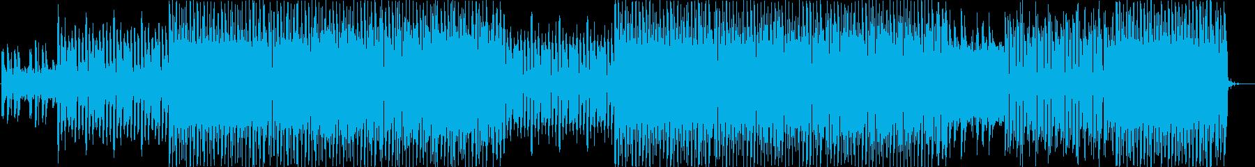 レトロフューチャー的なエレクトロ風楽曲…の再生済みの波形
