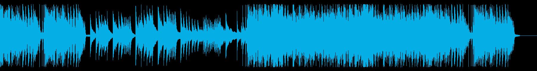 ピアノ、クール、和風 long ver.の再生済みの波形