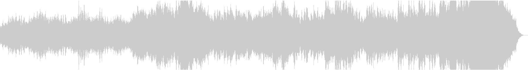 ミニマルピアノ/キラキラ/化粧品のCM風の未再生の波形