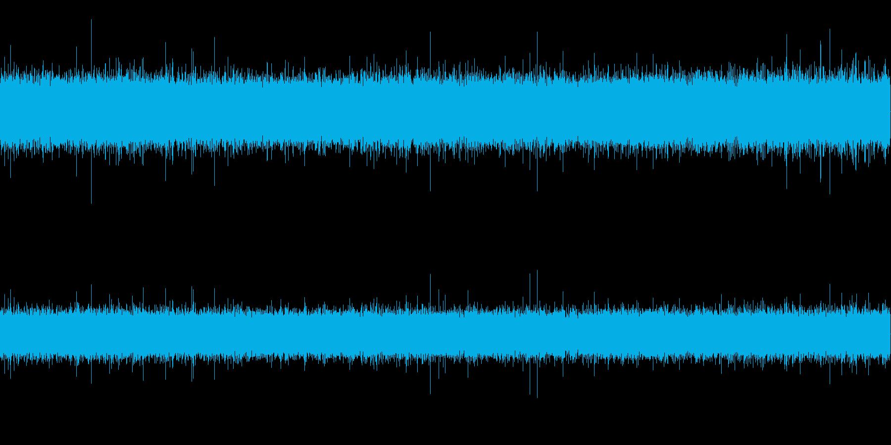 ザー (離れて録音)の再生済みの波形