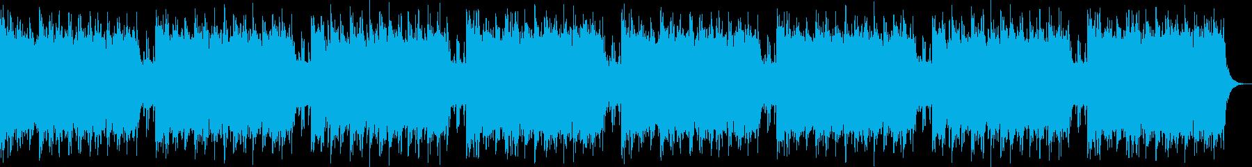 【遥かな旅】ストリングス&木管BGMの再生済みの波形