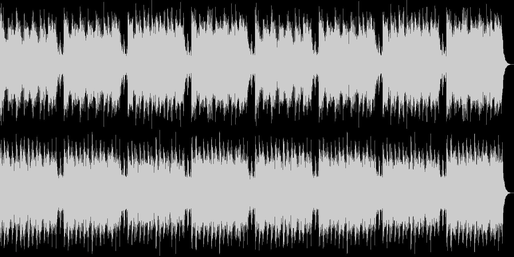 【遥かな旅】ストリングス&木管BGMの未再生の波形