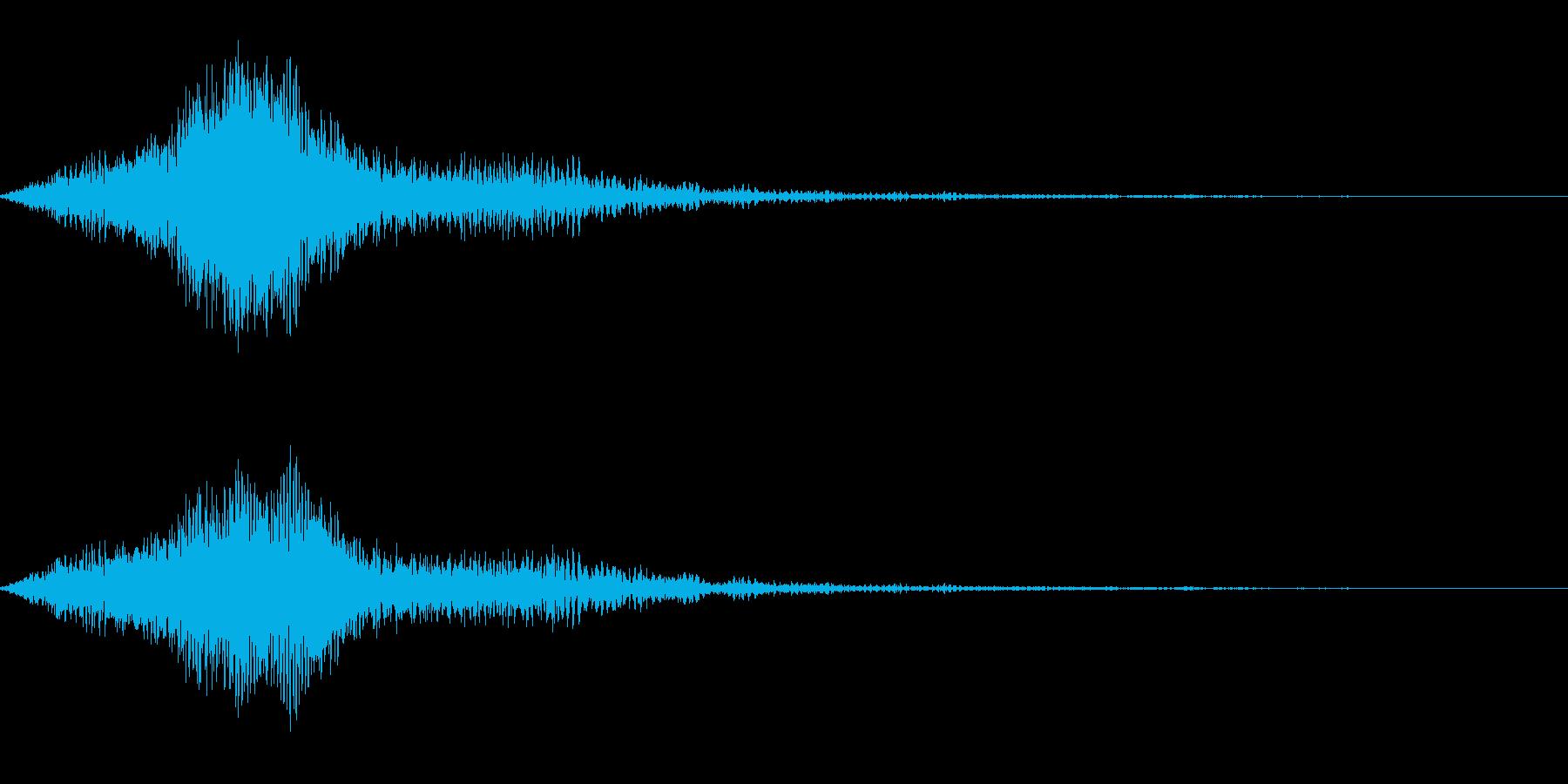シュイーン↑_PCや端末を起動するの再生済みの波形