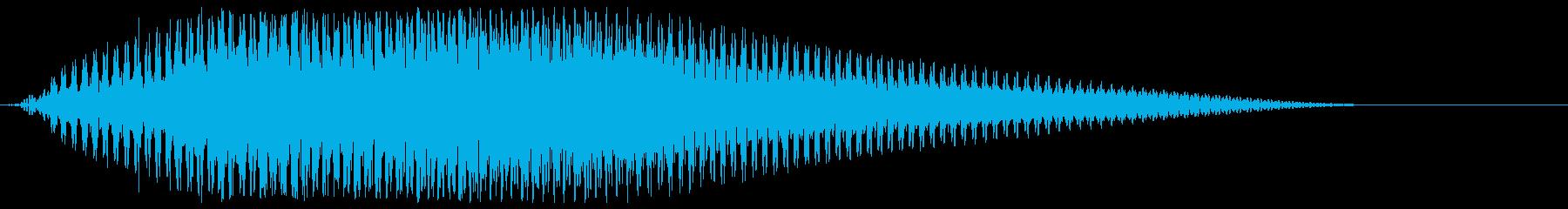 サウンドロゴ【宇宙】光が通過する未来空間の再生済みの波形