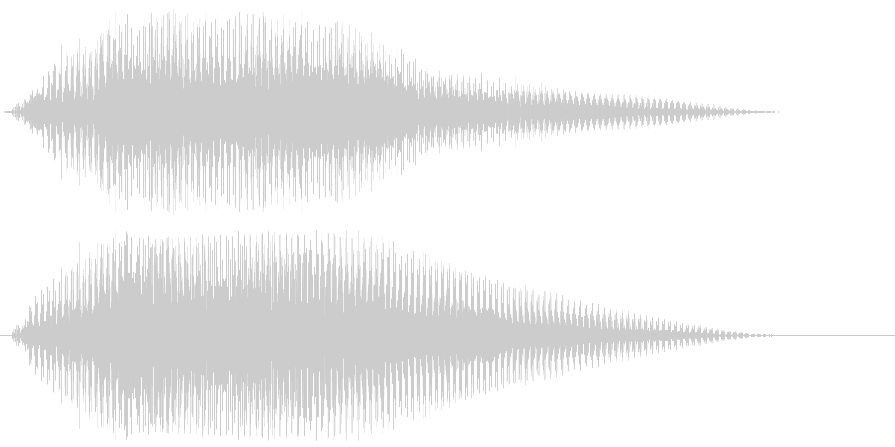 サウンドロゴ【宇宙】光が通過する未来空間の未再生の波形