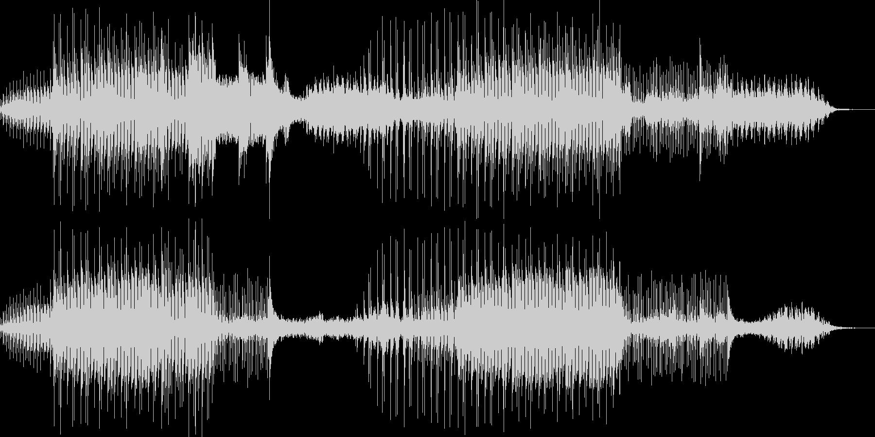 シネマティックなギターアンビエントの未再生の波形