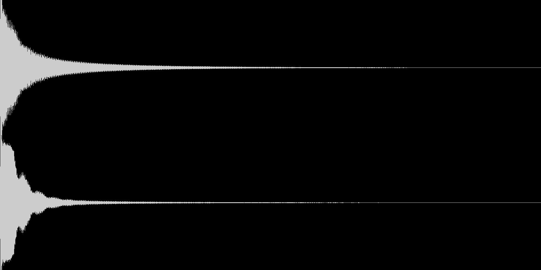 電子レンジでチンの未再生の波形