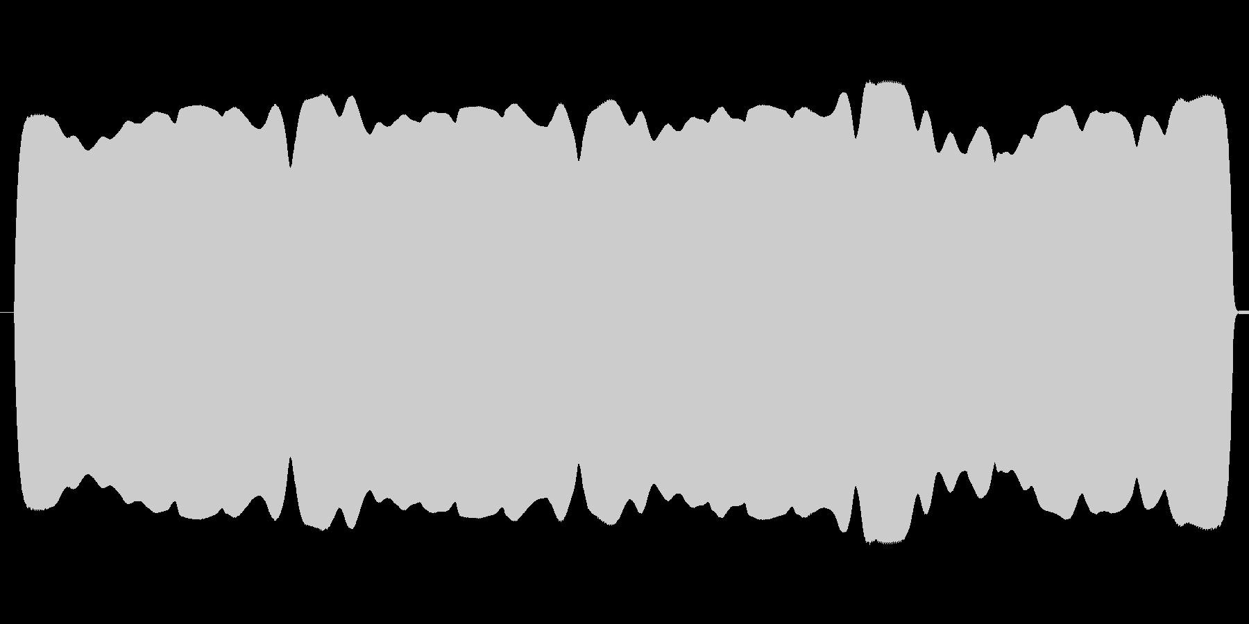 ブワンブワンテルミン(不安定な高低、遅速の未再生の波形
