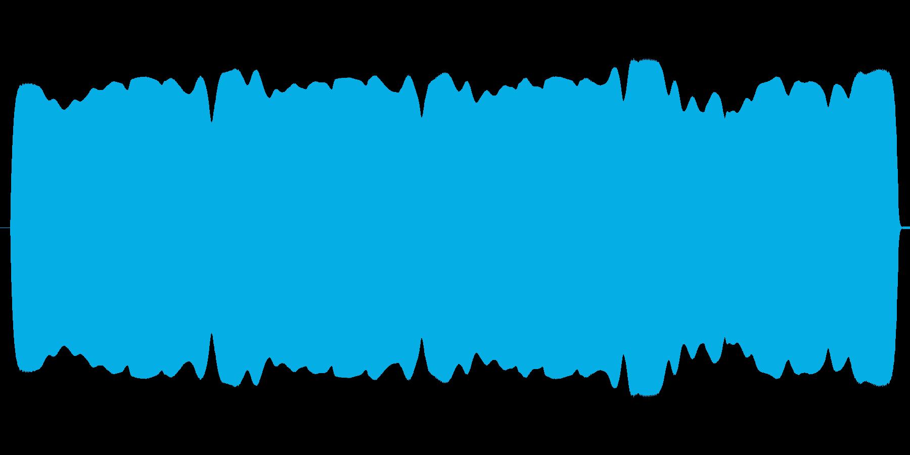 ブワンブワンテルミン(不安定な高低、遅速の再生済みの波形