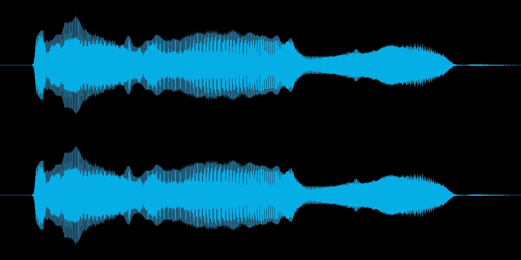 「かーわーいー!」の再生済みの波形