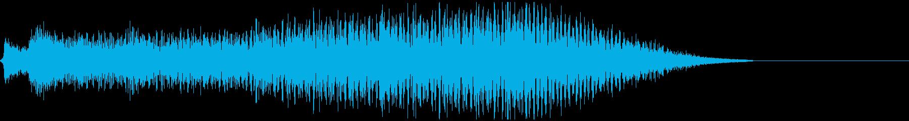 5秒CM用、セール、イベント告知verBの再生済みの波形